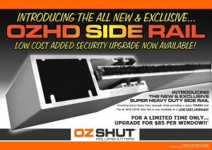 "OzShut Roller Shutters ""Heavy Duty"""