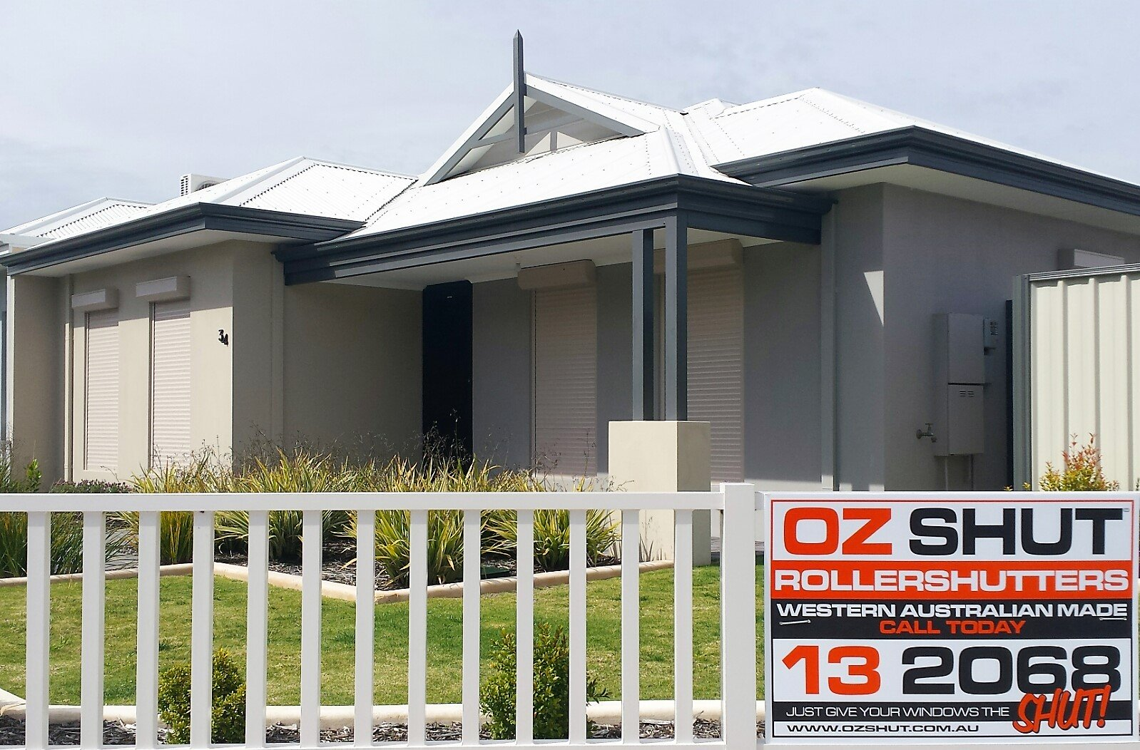 My Ozshut Roller Shutters Have Really Helped Keep My House